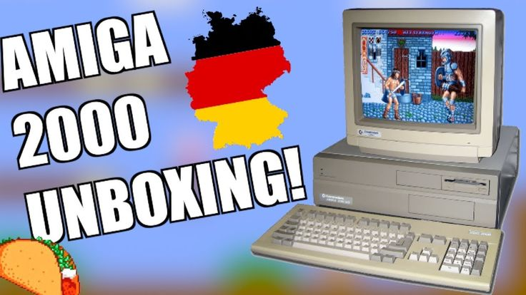 Getting a Commodore Amiga 2000 from Germany!