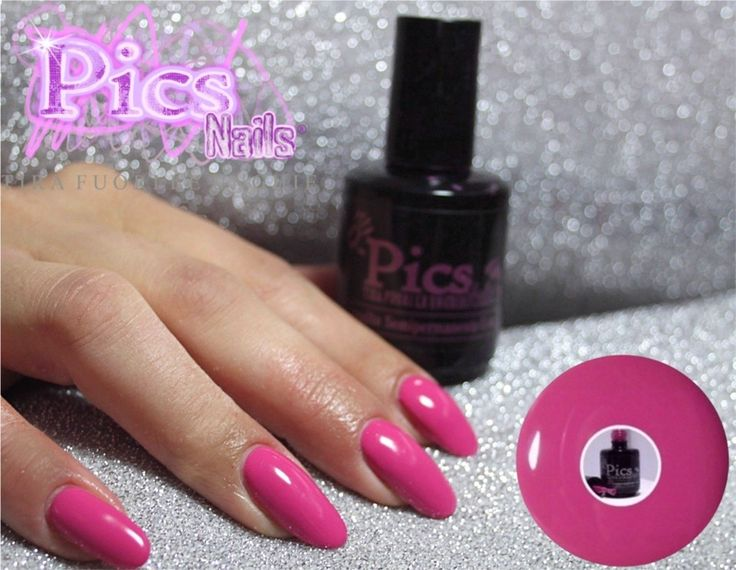 Smalto Semipermanente Fuxia: uno dei colori più richiesti tra gli oltre 95 colori moda Pics Nails!