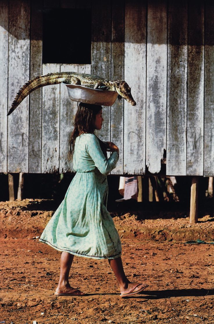 "National Geographic Magazine, March 1987, ""Brazil: The Promise and Pain"" Photo: Stephanie Maze"