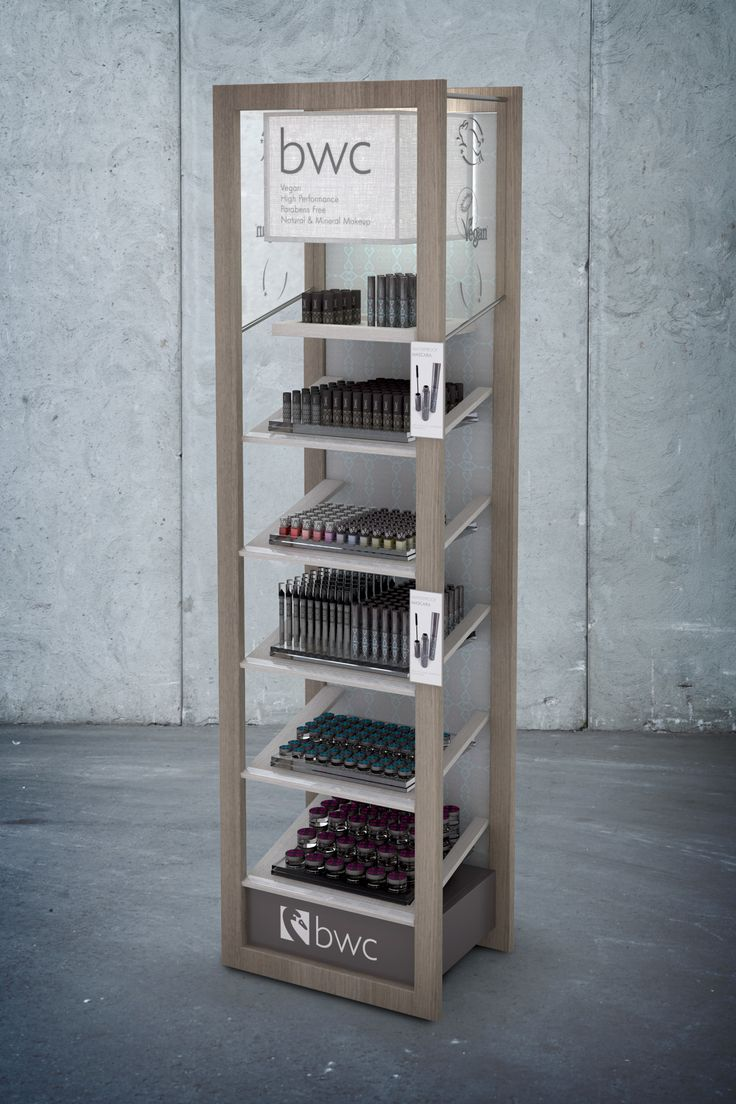 Beauty Without Cruelty (BWC) Merchandising Units on Behance