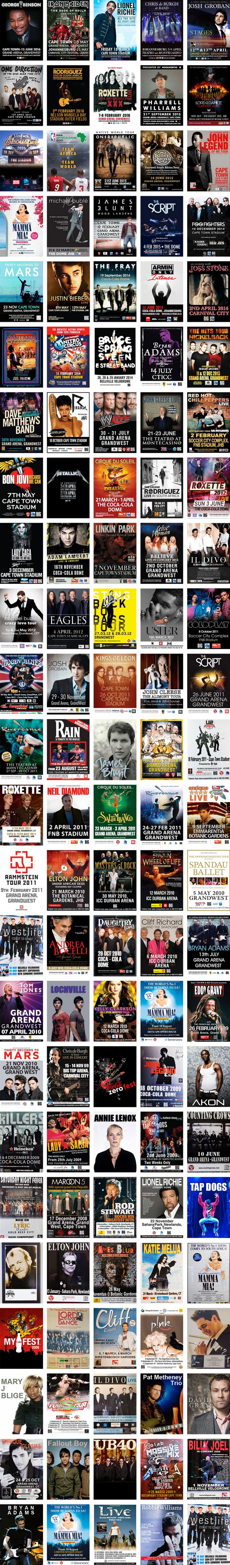 #BigConcerts #Posters