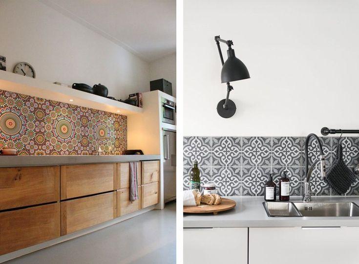Oltre 25 fantastiche idee su piastrelle da cucina su pinterest piastrelle della metropolitana - Piastrelle da rivestimento cucina ...