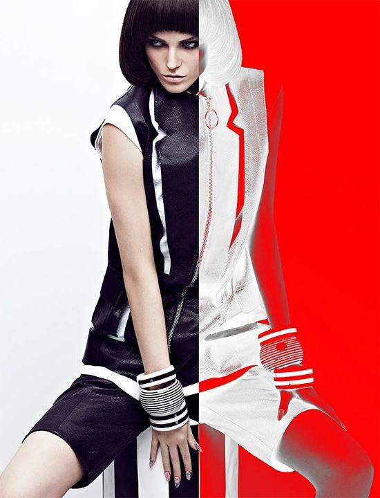 High Contrast: Fashion Photography by Chris Nicholls