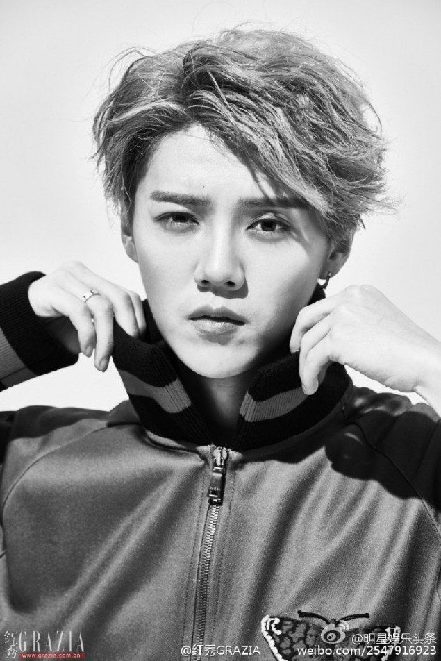 Luhan channels his free spirit on the 'Grazia' cover | allkpop.com
