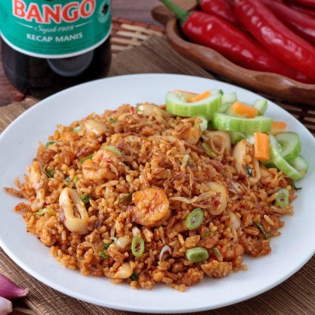 Nasi goreng seafood bumbu jawa timur