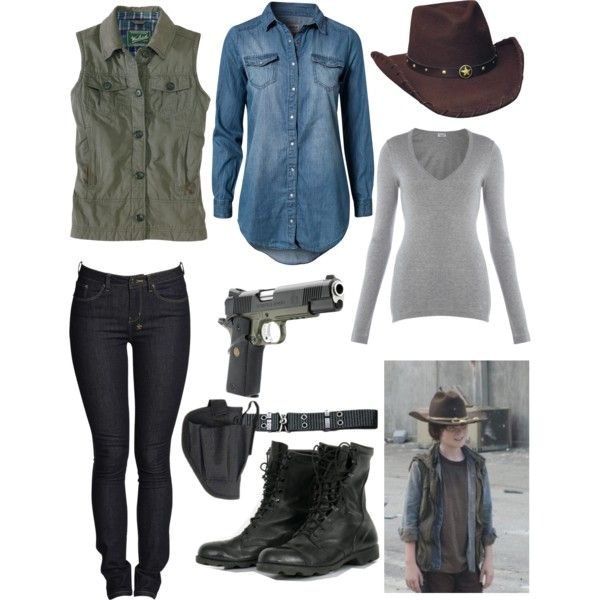 Carl Grimes, created by xthewantedx on Polyvore