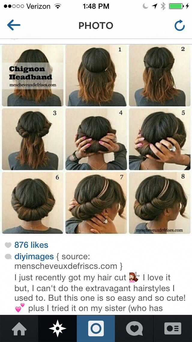 This Is A Good Hairstyle For School And Work Forworkeasyhairstyles