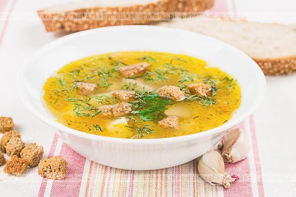 Zupa ziemniaczana z pietruszką