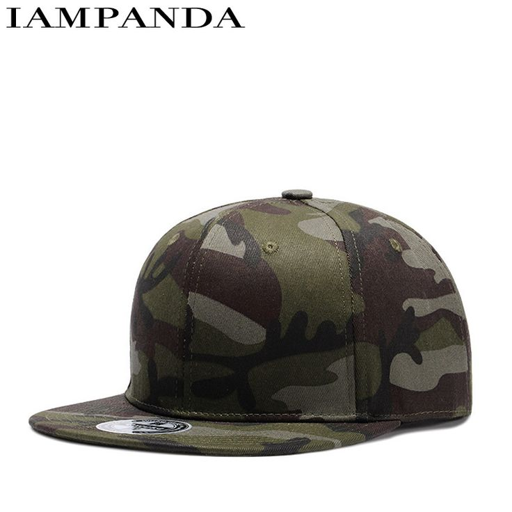 2017 New cotton Real Dance Hall Camouflage Light Panel Plain Cap Woman Summer Street Hats Trend Baseball Hat Male Print