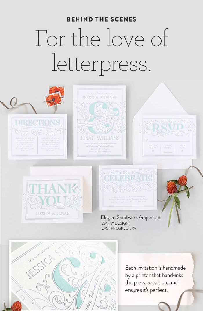 Inspire Your Traditional Wedding With A Clic Invitation Minted S Luxury Letterpress Combines Centuries Old Printing