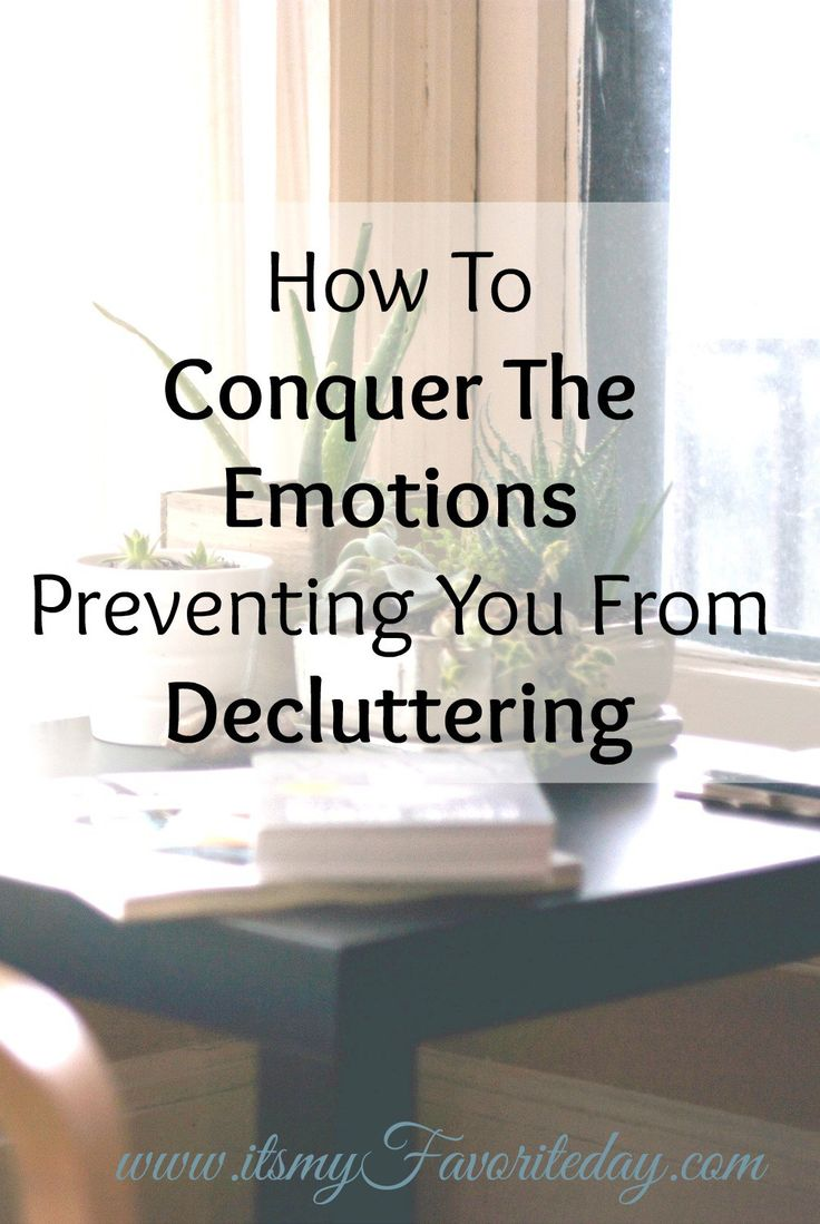 Wow I think these all applied to me, haha!  Seriously I can't believe how much emotions we have attached to stuff and how they prevent you from decluttering.  You want to try this out, make sure to read.  You will want to come pack to this so repin now!
