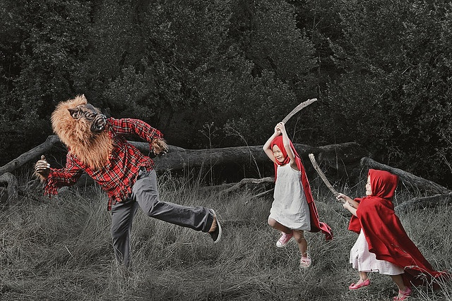 Little Red Riding Hoodlums by jwlphotography, via Flickr