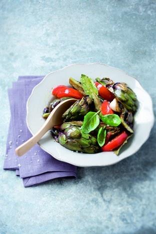 Brouillade de petits violets - Larousse Cuisine