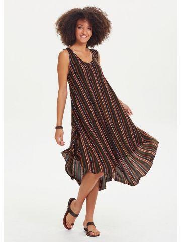 Diyagonel Hawaii Elbise - Fotoğraf 28