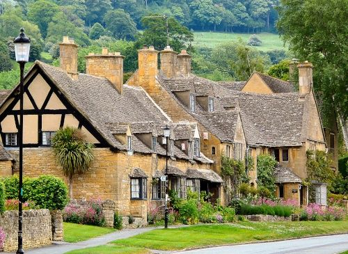 Shakespeare Cottages, High Sreet, Broadway, Worcestershire, The Cotswolds