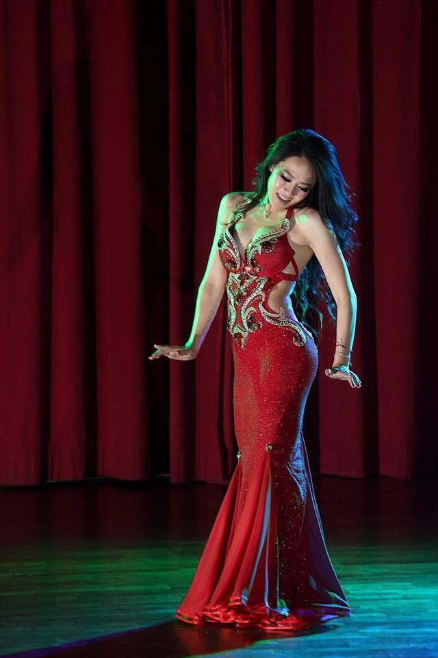 Belly dance cabaret style dress