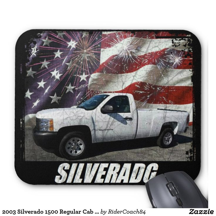 2003 Silverado 1500 Regular Cab W/T Long Bed Mouse Pad