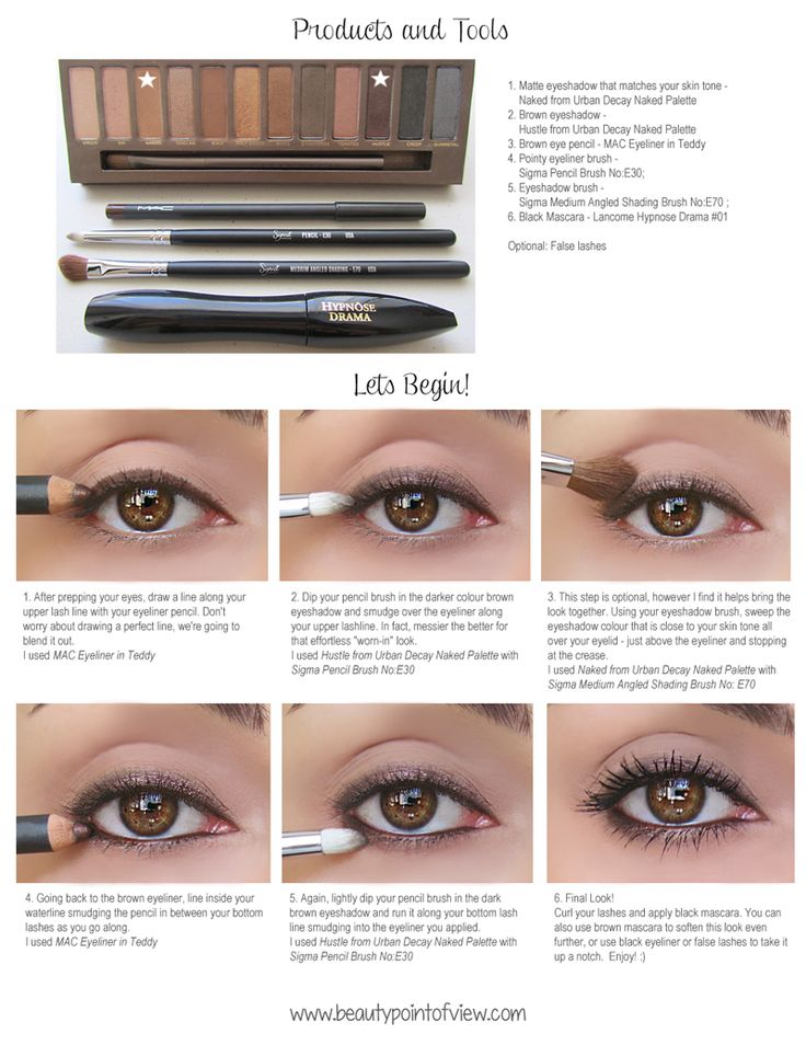 Simple Everyday Eye Makeup - full pictorial now available at www.beautypointofview.com Beauty Point Of View - Beauty Fashion Lifestyle