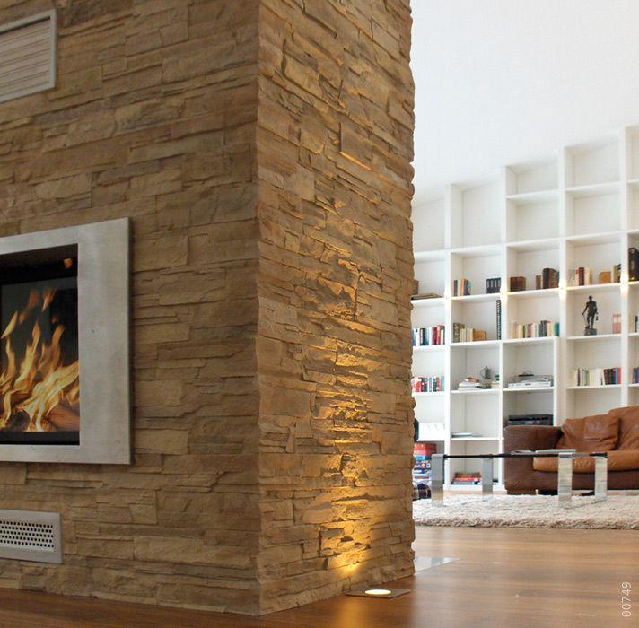 33 besten kamin mit steinoptik bilder auf pinterest for Raumgestaltung stein dresden