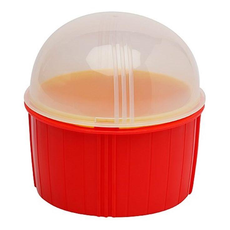 Zap Chef Poppin Corn Red Microwave Popcorn Maker | Popcorn Makers - House