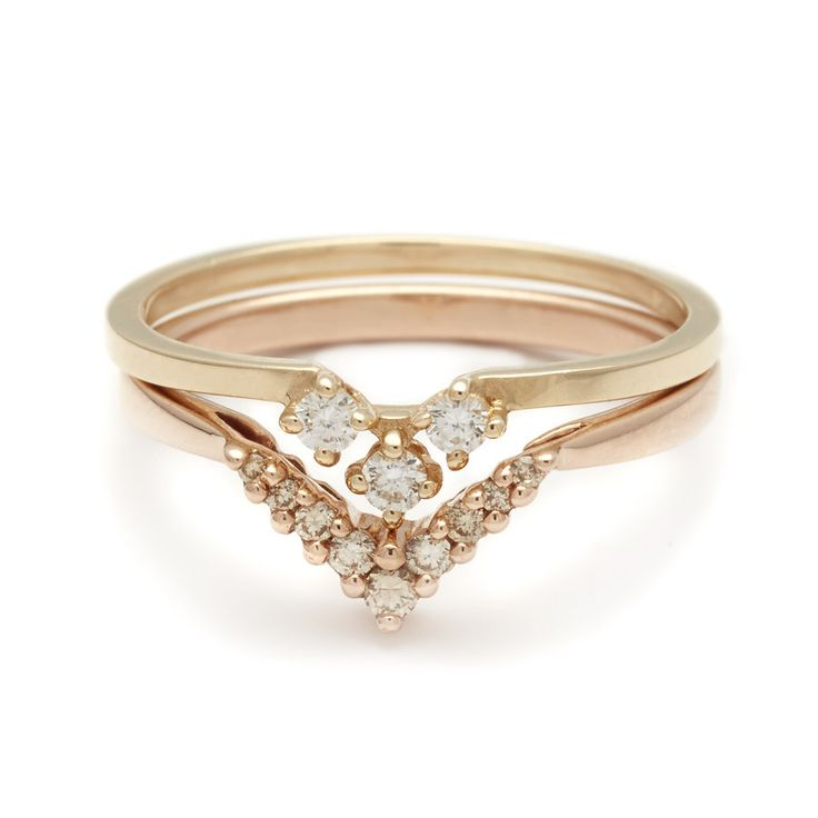 Trending Stacking Suite No Stacked Wedding RingsStacked