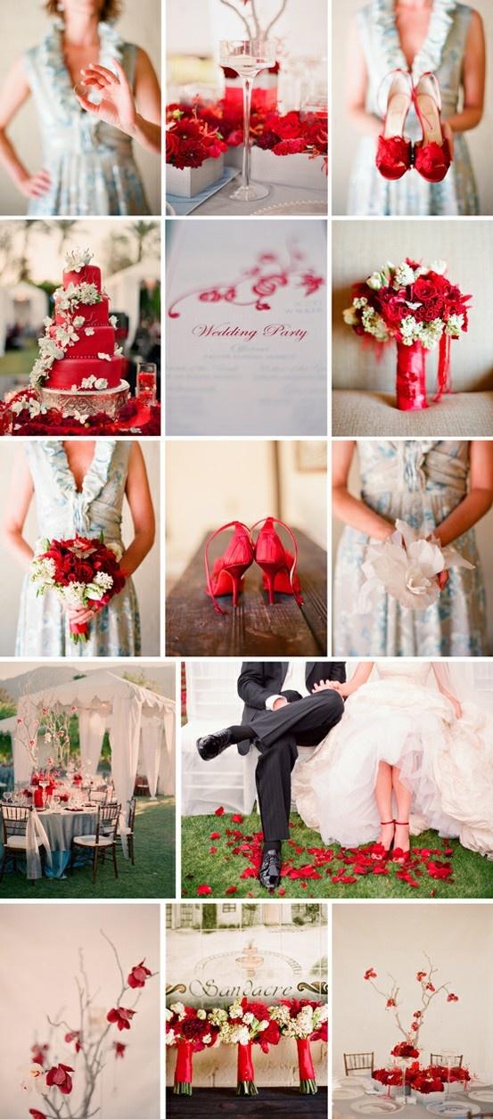 Red wedding inspirations