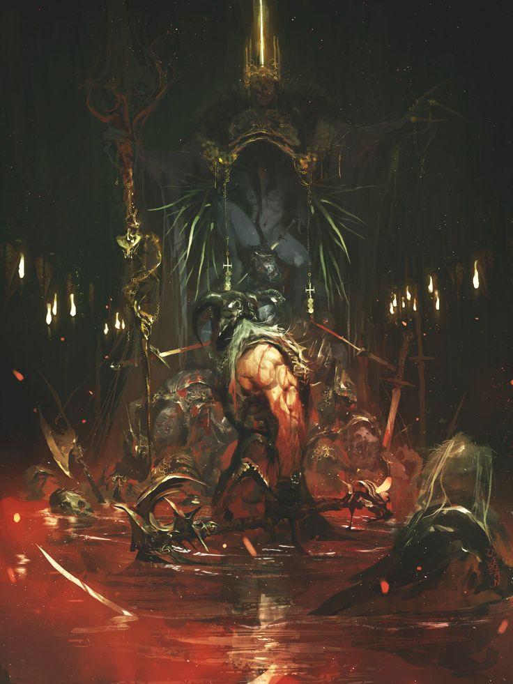 The Rotten King, Reynan Sanchez on ArtStation at http://www.artstation.com/artwork/the-rotten-king