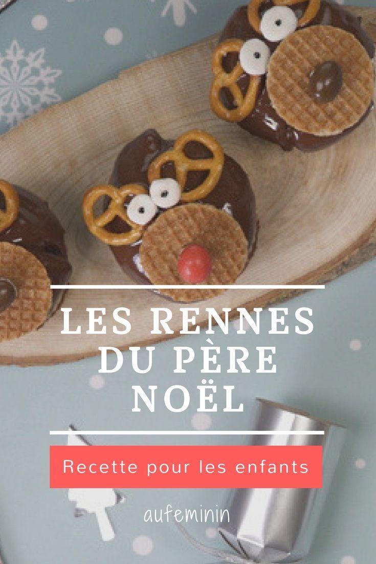 Recette Les Rennes Du Pere Noel Muffins Gouter Recettes Pour
