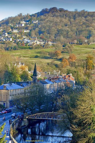 Matlock Bath- Derbyshire Which is situated in the south Peak District.............the Peak District is Britian's FIRST NATIONAL PARK