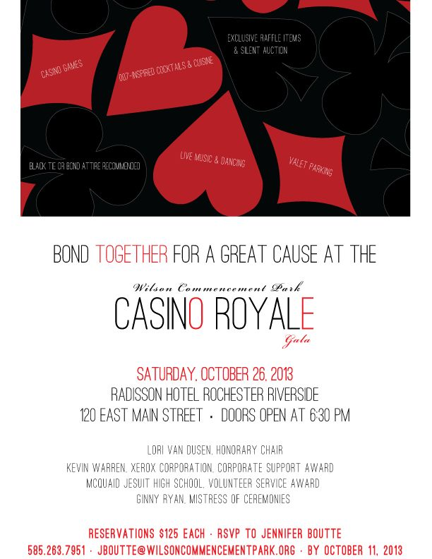 13 best Casino Royale images on Pinterest Casino royale, Casino - fundraiser invitation templates