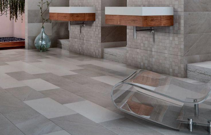 Comet Grey 30x60cm Wall And Floor Tile By Mykonos Spain