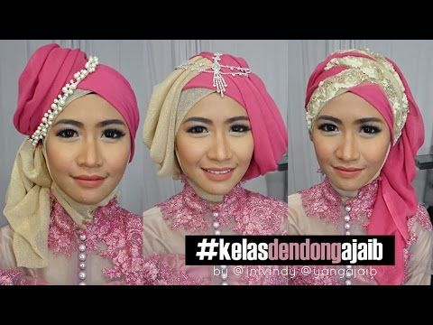 Tutorial Hijab Wisuda 2015 | Hijab Tutorial For Graduation | Do It Yourself - YouTube