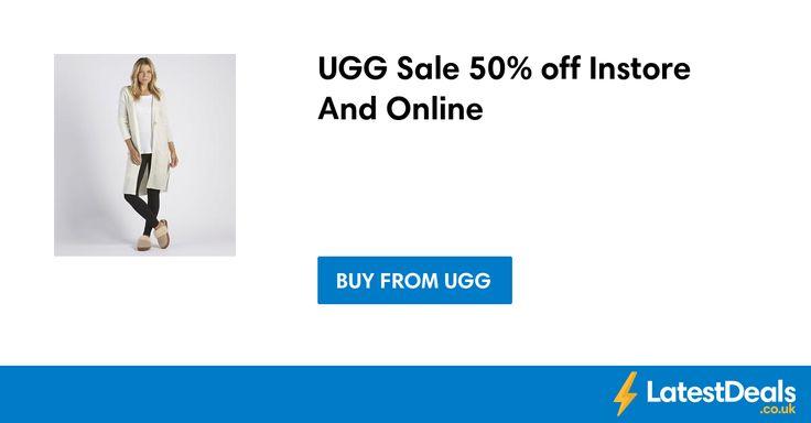 UGG Sale 50% off Instore And Online at Ugg