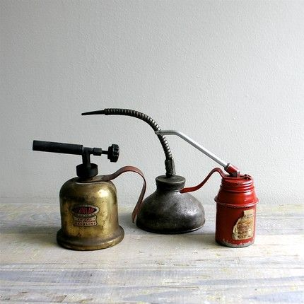 Vintage Oil Can Collection