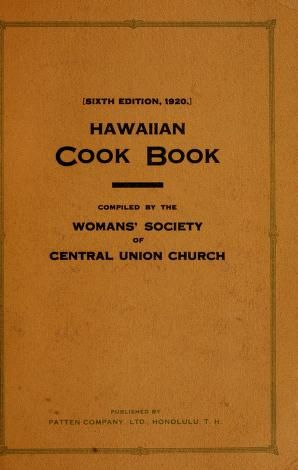 Hawaiian cook book