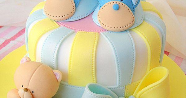 cute baby shower cake   everything cake   Pinterest   Bootie, Baby Shower Cakes and Shower Cakes