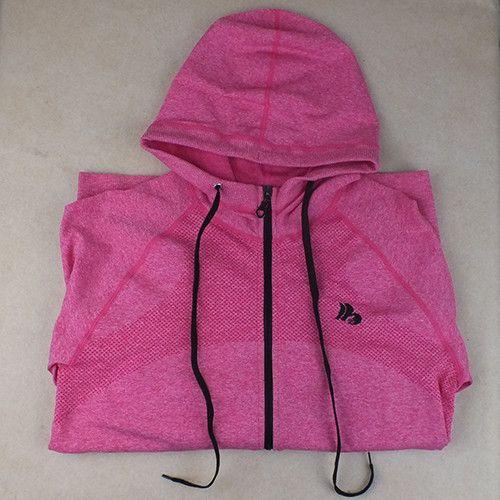 B.BANG 2016 New Women Sport Jacket Quick-dry Long-sleeved Running Gym Sweatshirt Cloth Fitness Zipper Jacket Outerwear chaquetas