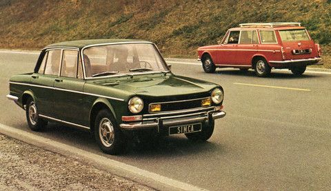 Simca 1301 Special - my second car. Rubbish quality body, but a very comfortable ride!