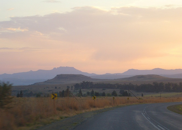 Between Bethlehem and Fouriesburg, Free State, South Africa