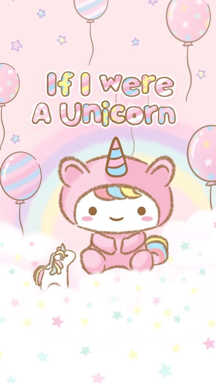Pin By Patrice Aka Pepper On Hello Kitty Wallpapers Unicorn