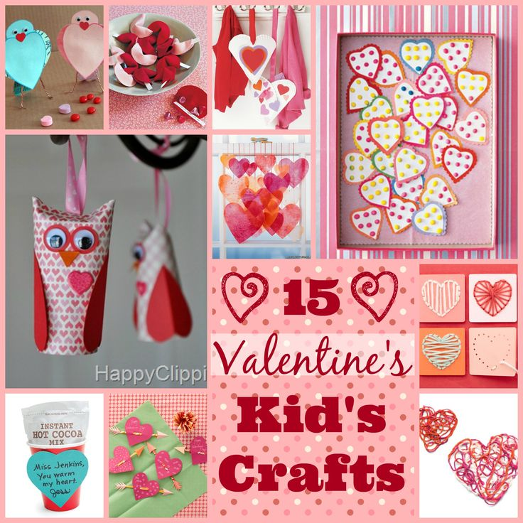 15 Valentine's Kid's Craft {Life With The Crust Off}