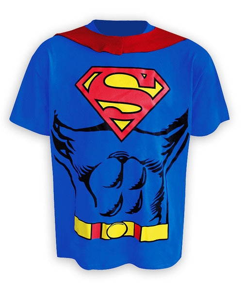 Camiseta traje con capa Superman