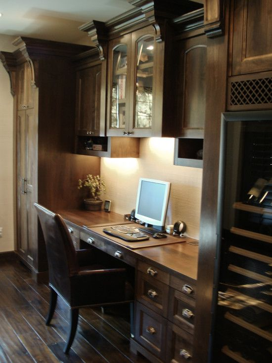 Home Office Built In Desk Design, Pictures, Remodel, Decor And Ideas