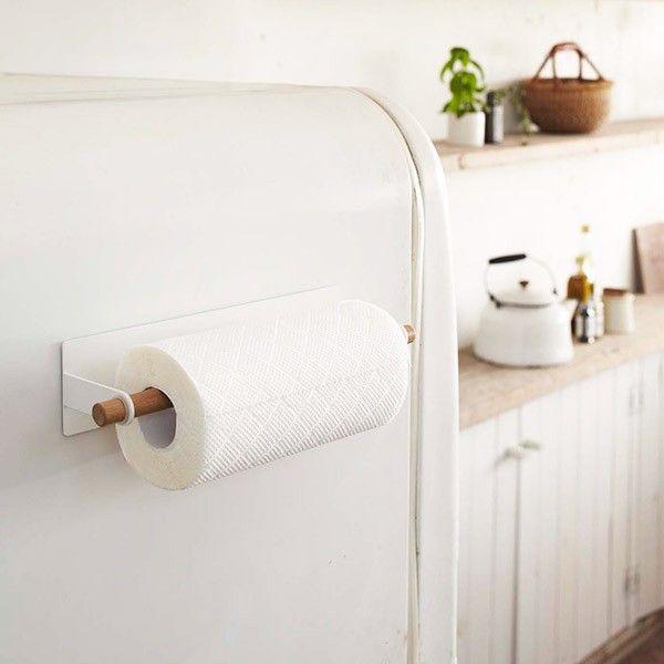Las 25 mejores ideas sobre soportes para papel de cocina - Papel cocina pared ...