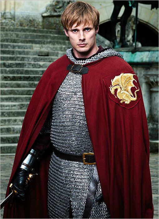 Merlin Series 5. Bradley James as Arthur