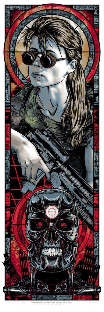 "Rhys Cooper ""Archangel Connor of the Apacalypse"" Print"