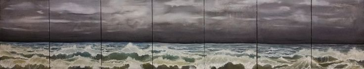 This art painting 'Sea' is part of the serie 'Arch landscapes'. It shows paintings of elementary landscapes and refers to vague dreams and melancholic memories. The archetype theme is used in psychology (Jung) and philosophy (Kant, Plato) as well.  https://flic.kr/p/HbvZoC   lxb142-92 cm