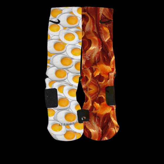 Bacon and Eggs One of a kind design original by us by LuxuryElites, $35.99
