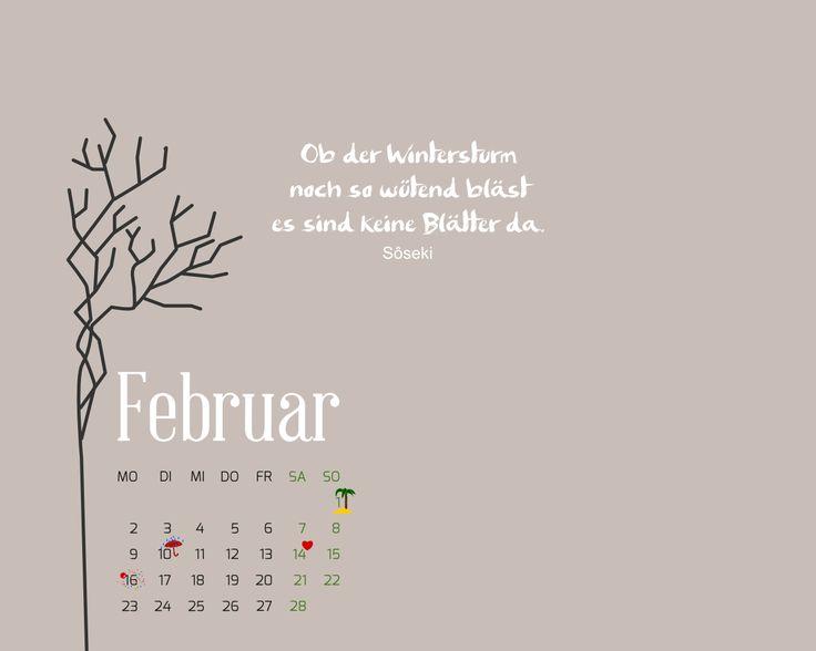 desktop kalender februar 2015