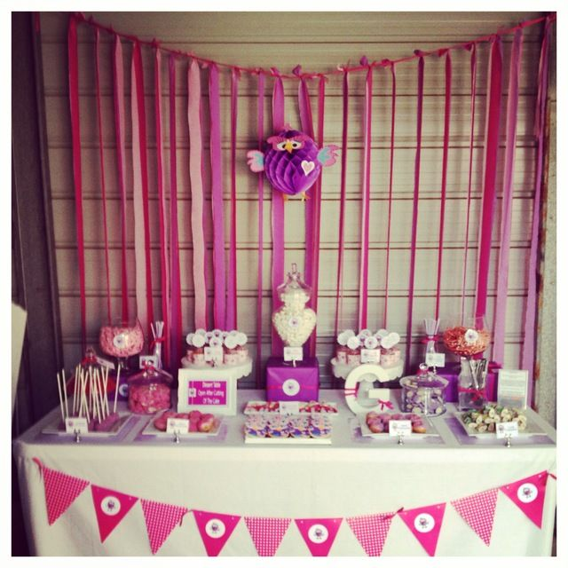 Grace's 1st Birthday Hootabelle Theme by Sweet Lyla